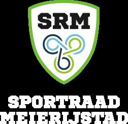 Logo sportraad meierijstad. Voeteneinde